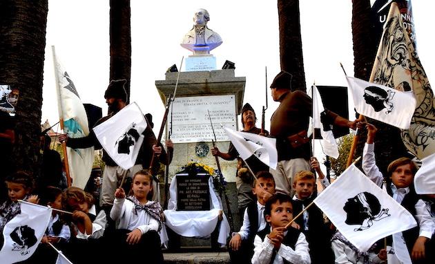 128 ème commémoration du retour des cendres de Pasquale Paoli à Lisula