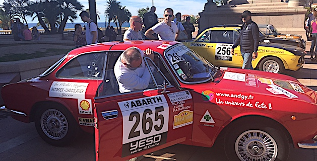 Tony Avolio et son copilote
