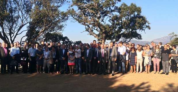 Près de 92 participants représentant 37 hôpitaux, réunis à Porticcio.