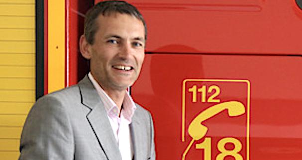 Charly Voglimacci, président du SDIS