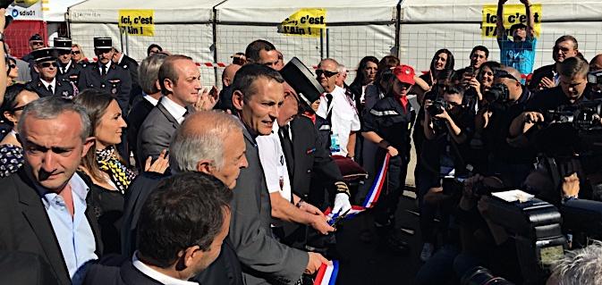 Ajaccio: Coup d'envoi pour le 124ème congrès des sapeurs pompiers