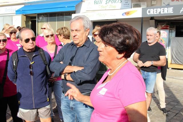 La Marche Rose de Calvi dédiée à Chantal Fondacci