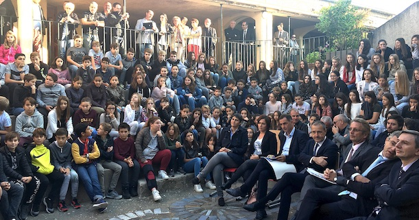 Le collège de Saint Florent devient collège Maria Ghjentile