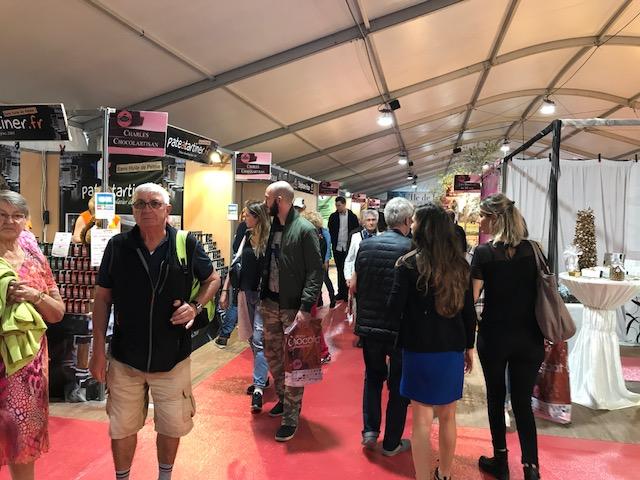 Salon du chocolat et des délices de Corse : Grosse affluence dès l'ouverture