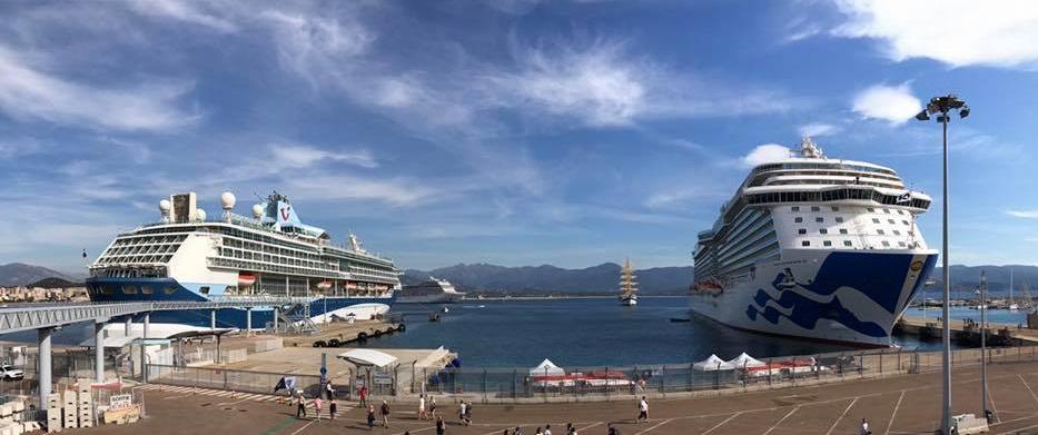 Le port d'Ajaccio a reçu près 10 000 croisiéristes jeudi !