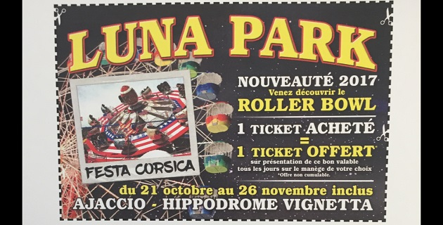 Luna park Ajaccio : Venez découvrir le Roller Bowl