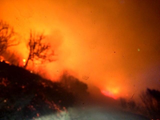 Le feu de Balagne toujours très actif sur le secteur de Novella