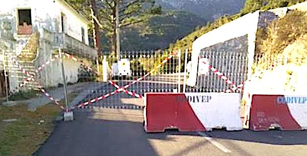 Bastia : La route départementale 81 fermée à Suerta