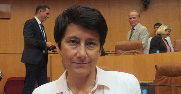 Fabienne Giovannini, conseillère exécutive et présidente de l'agence d'aménagement durable, de planification et d'urbanisme de la Corse.