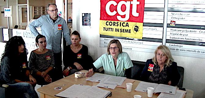 Hôpital de Bastia : La CGT poursuit la grève de la faim !