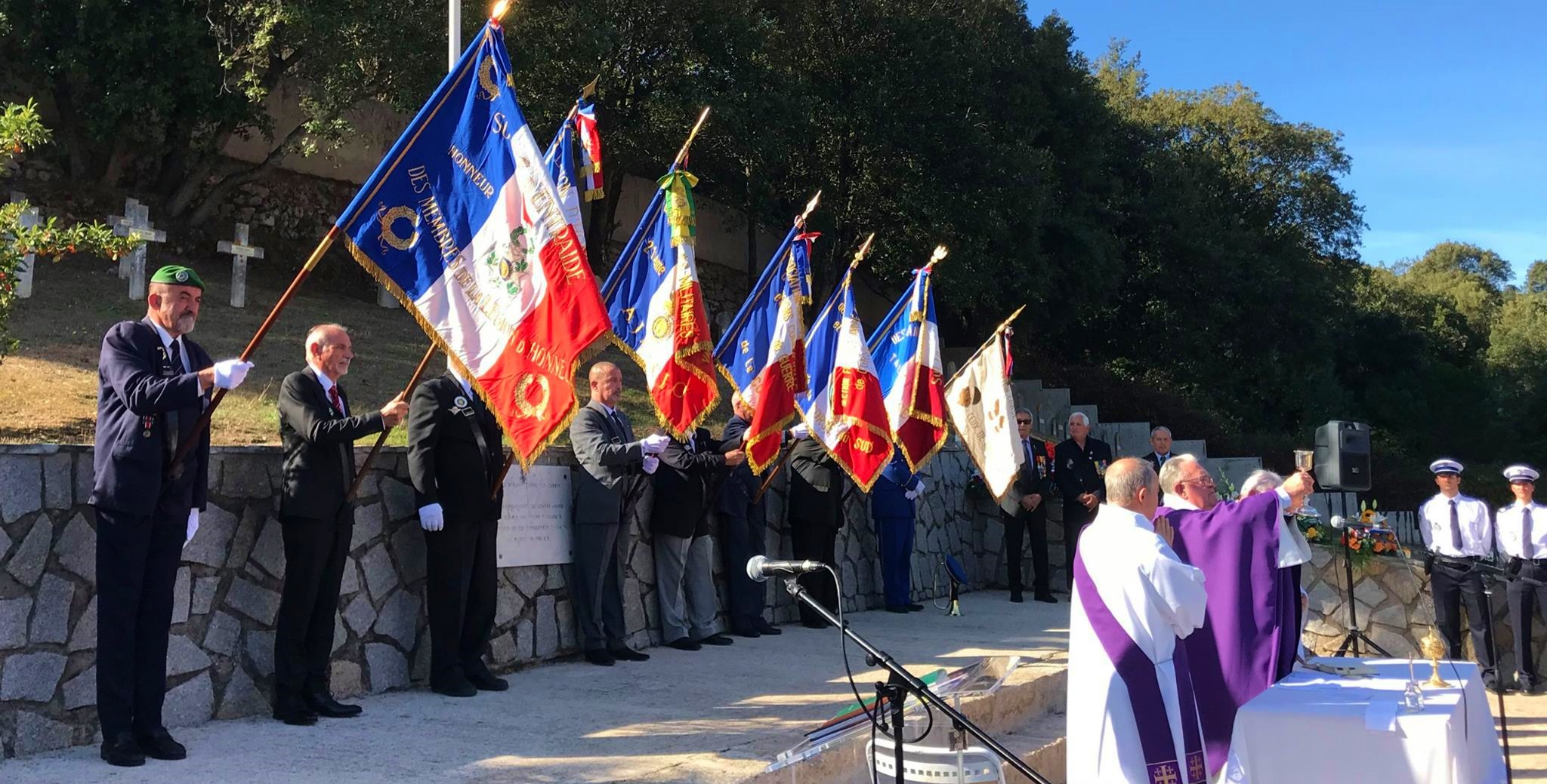 Ajaccio : Cérémonie hommage aux « Morts pour la France » et à leurs familles
