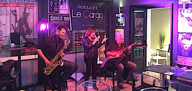 Jazz : Une envoûtante Fabienne Marcangeli  avec « ses deux Amériques »….