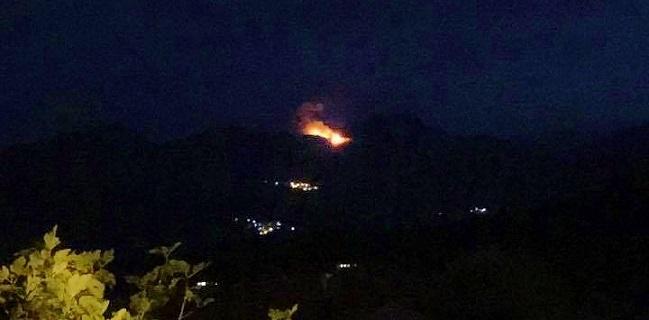 Incendie en cours dans la région de Quasquara