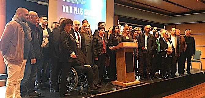 """Territoriales: Avec la liste""""Voir plus grand"""" Valérie Bozzi  veut """"agir pour la Corse"""""""