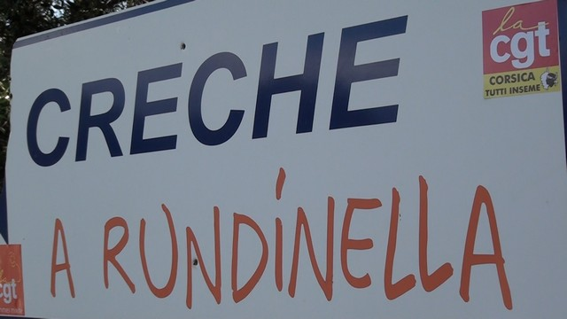 """Le personnel de la crèche """"A Rundinella"""" en grève à Monticellu"""