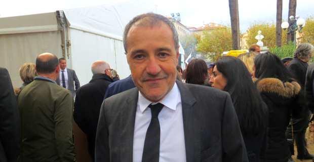 Jean-Guy Talamoni, leader indépendantiste de Corsica Libera, et président de l'Assemblée de Corse.
