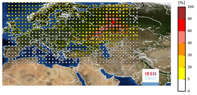 Radioactivité dans l'atmosphère : Des traces de ruthénium-106 décelées à Ajaccio
