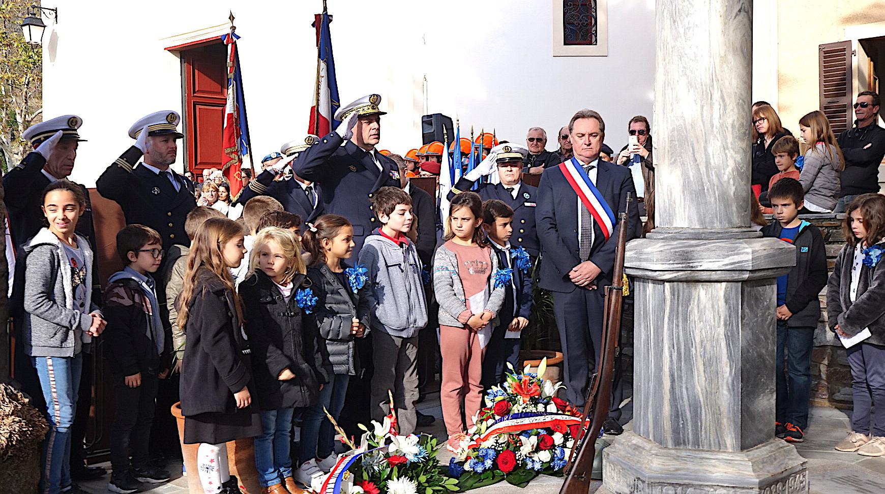 """Santa-Maria di Lota honore les victimes de la """"Grande Guerre"""" à Figarella"""