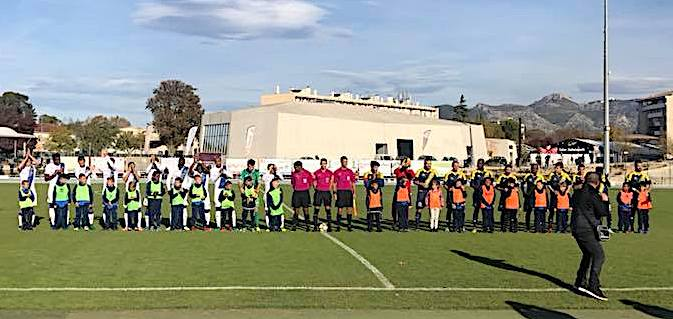 Sporting : Un point à Aubagne
