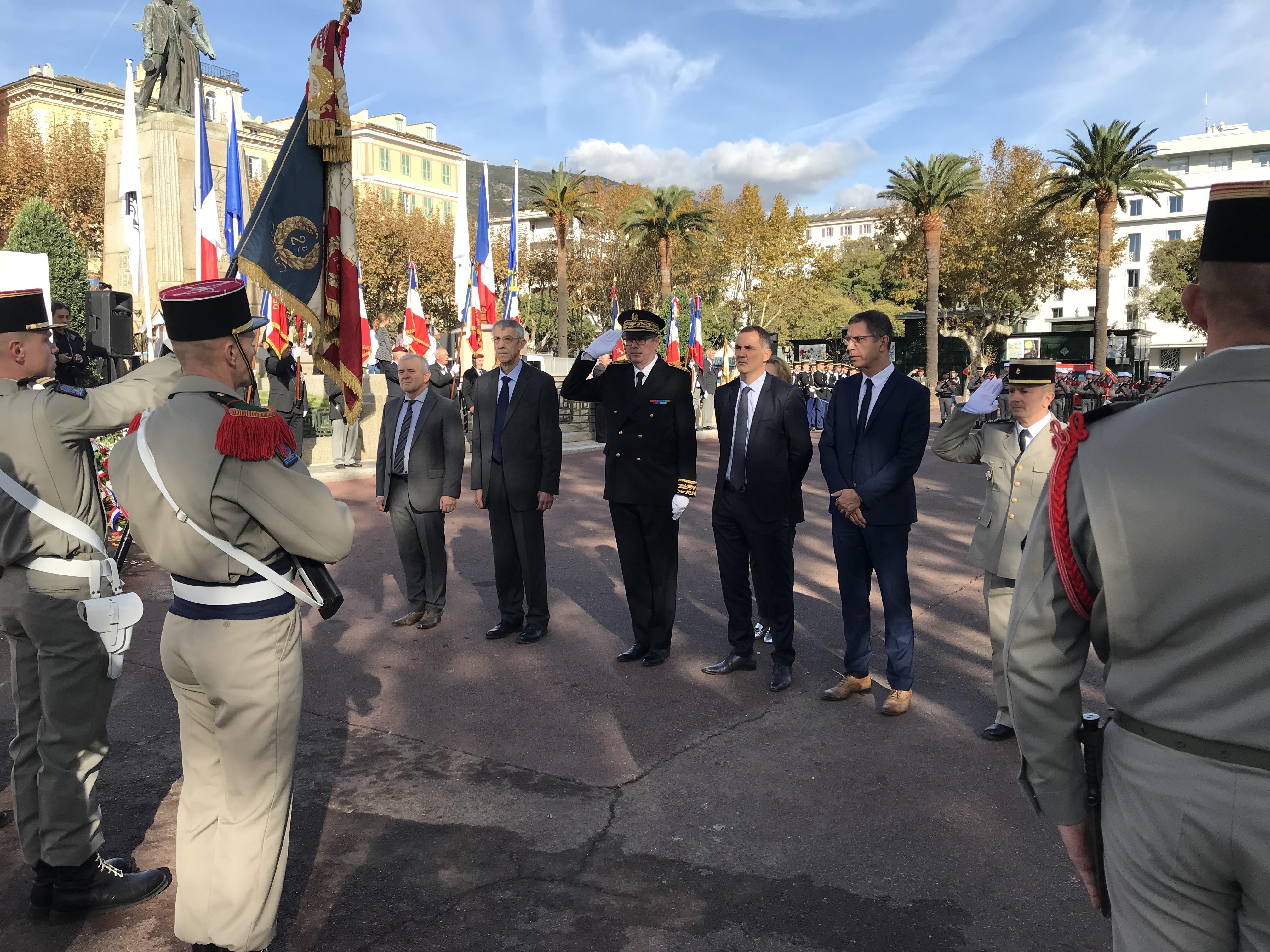 99ans après l'Armistice, Bastia a commémoré le 11-Novembre