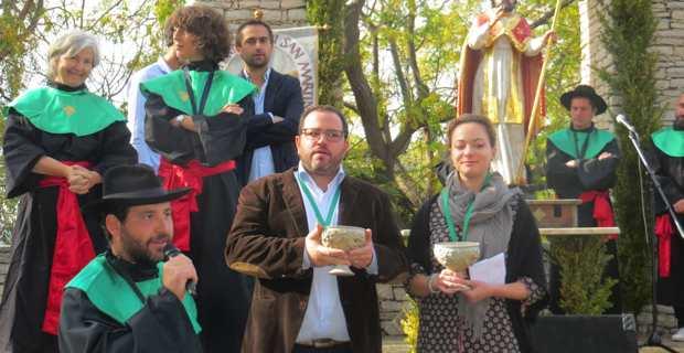 La célébration d'A San Martinu et du vin nouveau, le 11 novembre à Patrimoniu.