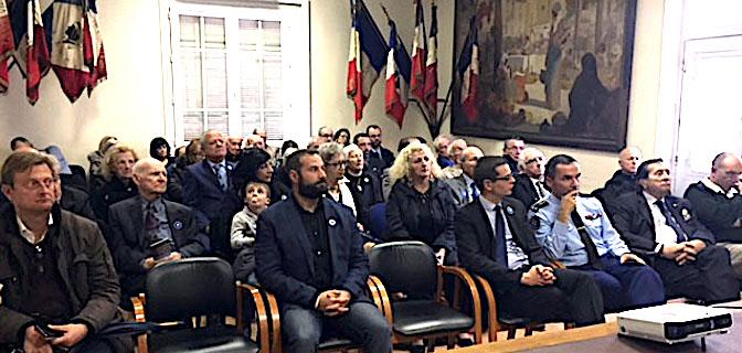 Le public venu nombreux pour célébrer le centenaire de l'ONACVG