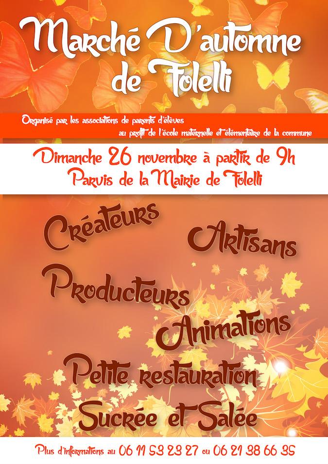 Folelli : Le premier marché d'automne généreux