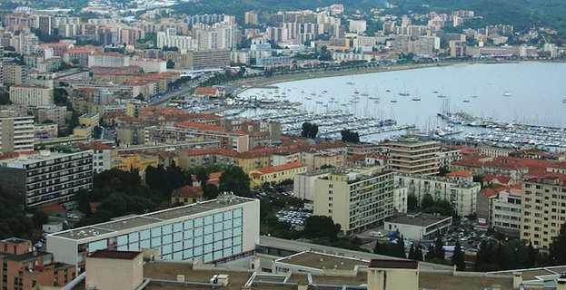 Le parc de logements de la ville d'Ajaccio.