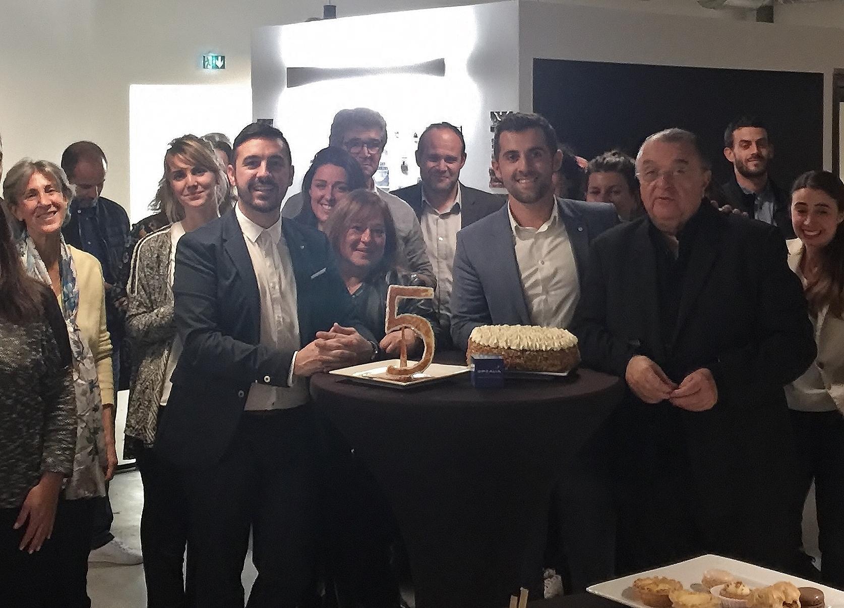Opcalia  corse fête ses  5 ans et la réélection de Jean-Jules Miniconi à la présidence