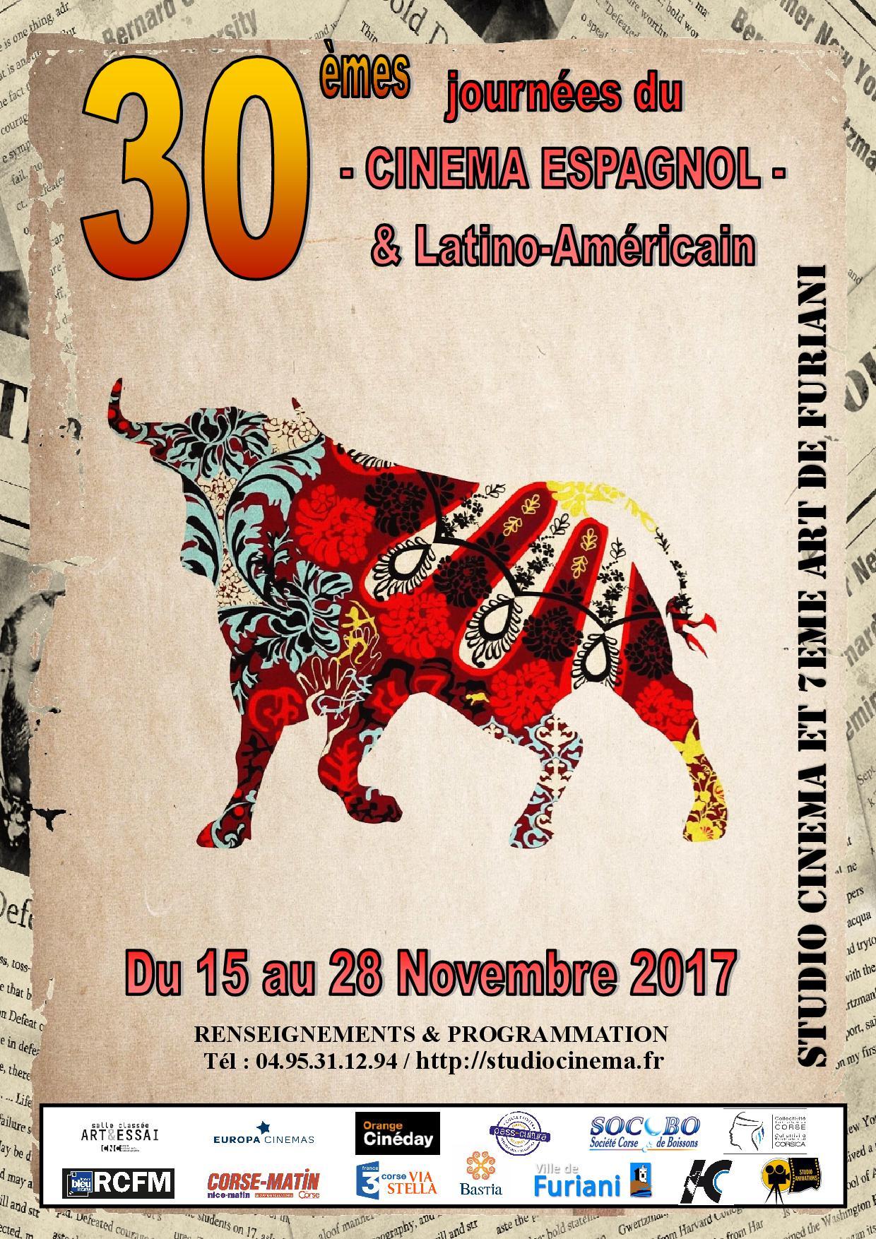 Bastia : La 30ème … du cinéma espagnol et latino-américain