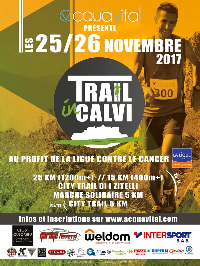 """""""Trail in Calvi"""" les 25 et 26 novembre : Une grande première"""