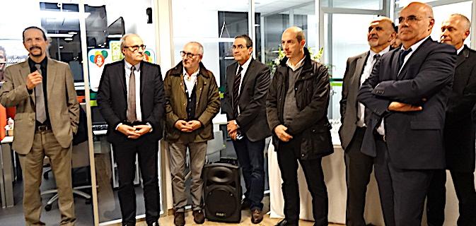 Ville-di-Pietrabugno : Le Crédit Agricole de la Corse inaugure