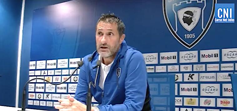 SC Bastia : Un quatrième succès et une lourde suspension pour Stéphane Rossi