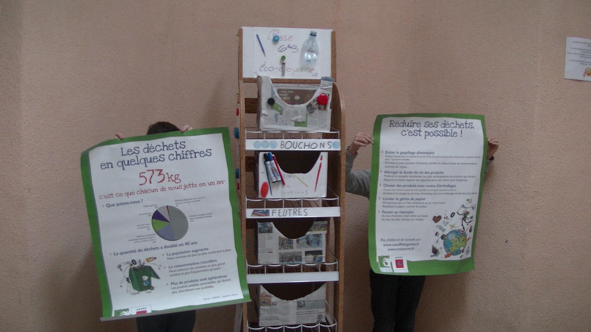 Bastia : Le totem éco-citoyen du Collège Vinciguerra...