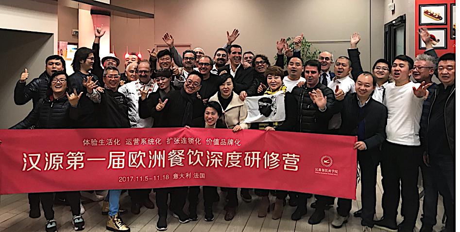 Rencontre à Paris entre grands restaurateurs chinois et artisans corses