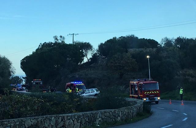 Collision à Corbara : 2 blessés