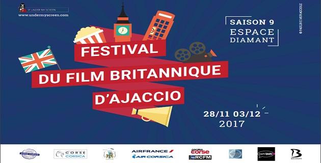 Neuvième édition du Film Britannique cette semaine à Ajaccio