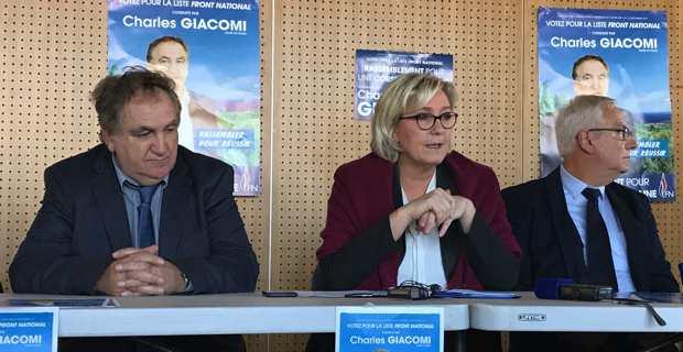 Marine Le Pen : « Un front républicain, c'est l'imposture du même système responsable des difficultés des Corses »