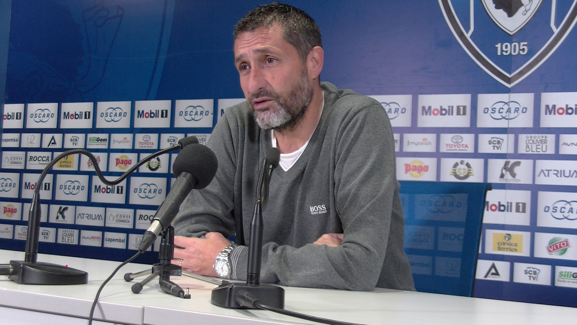 Stéphane Rossi, entraîneur du SCB, fait le point avant cette rencontre importante