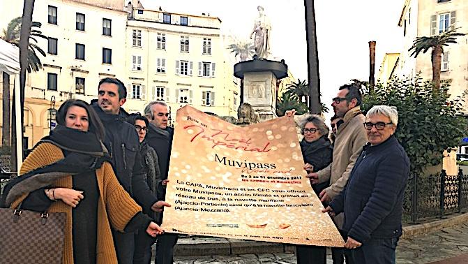 Pays Ajaccien: Un Muvipass pour se déplacer gratuitement tous les week-ends en décembre