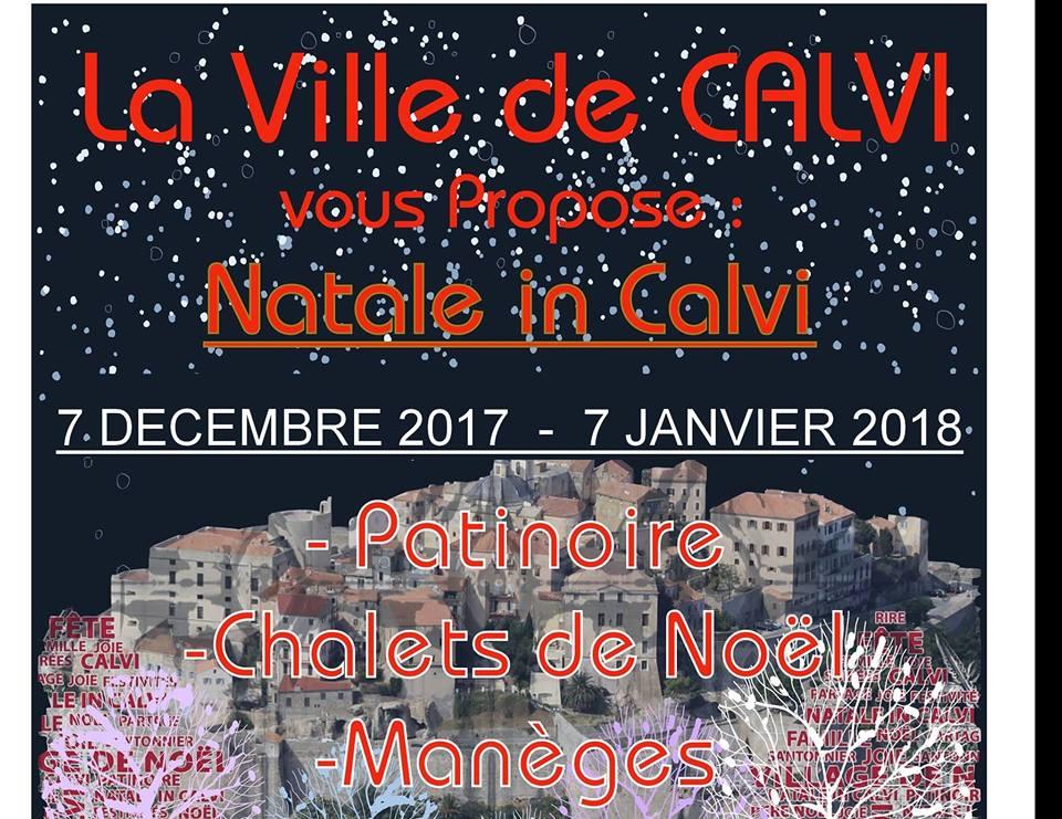 """ Natale in Calvi ""  arrive"