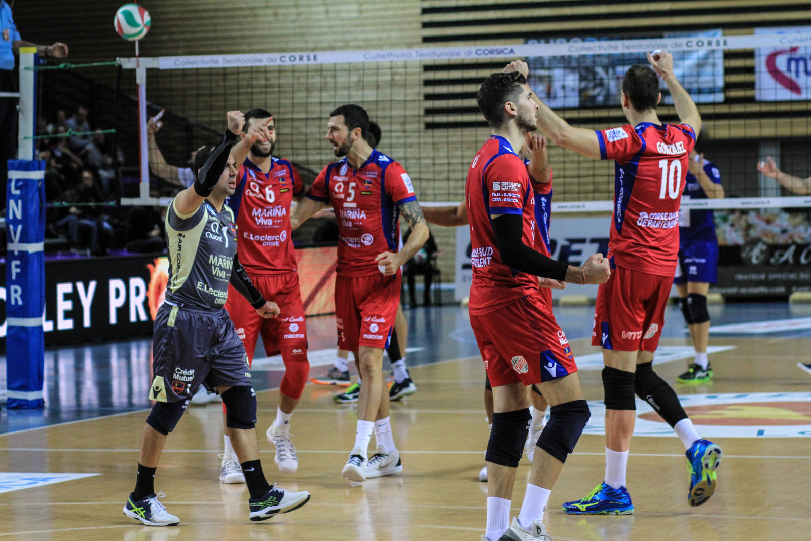 Ligue A : Le GFCA domine Montpellier (3 sets à 1)