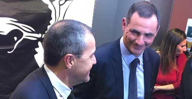 Gilles Simeoni et Jean-Guy Talamoni.