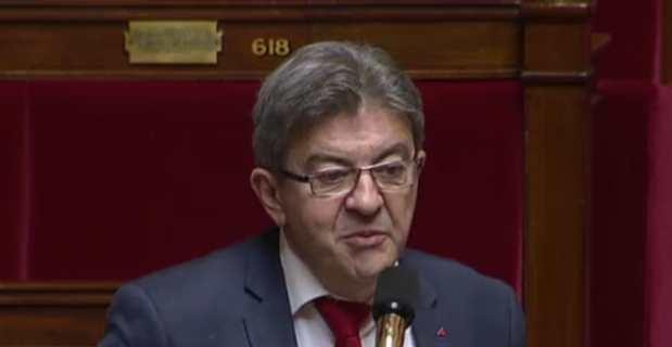 Jean-Luc Mélenchon, député et leader de la France Insoumise.