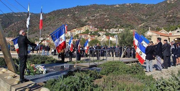 Ajaccio : Hommage aux morts en Algérie