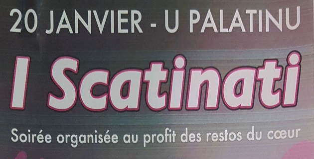 Ajaccio : « I Scatinati » s'invitent au Palatinu