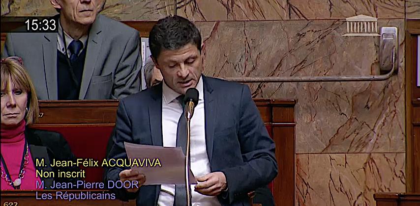 Autonomie : Jean-Felix Acquaviva  interroge le Premier ministre. Gérard Collomb élude…
