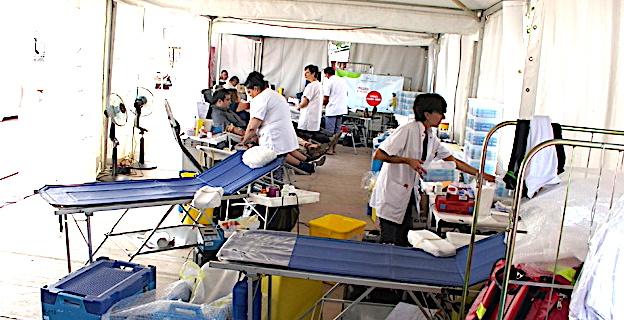 Réserves de sang trop fragiles à l'approche des fêtes : Donnez votre sang, c'est urgent