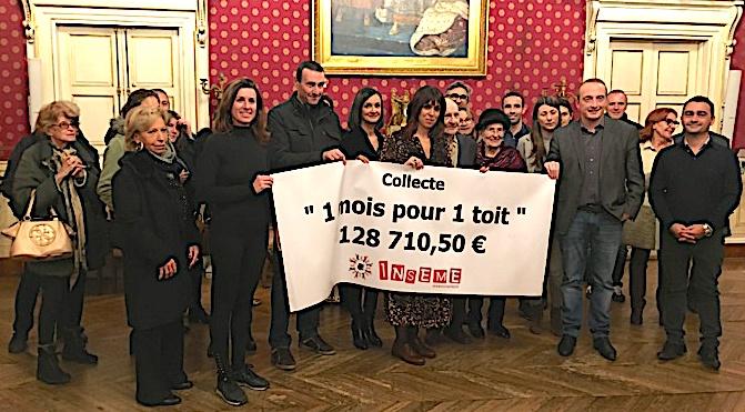 Inseme remercie les contributeurs de l'opération «un mois pour un toit»