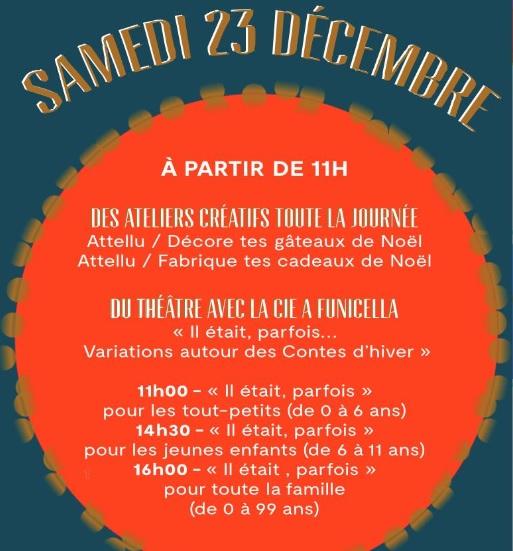 Bastia : Animations culturelles au quotidien pour les fêtes